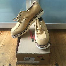 Muy Cool red Wing Shoes derbis Oxford Gamuza ocre UK 10.5 EU 45