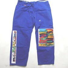 Jiu-Jitsu MMA Uniform Pants Blue Denim Mens Large