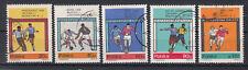 Polen Briefmarken 1966 Fussball WM London Mi.Nr.1665-69 gestempelt