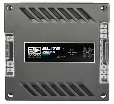 Banda Elite Four Channel 500 Watts Max 2 Ohm Car Audio Amplifier - 2000.4