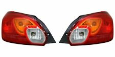 FIT MITSUBISHI MIRAGE 2014-2015 LEFT RIGHT TAILLIGHTS TAIL LIGHTS LAMP CAPA PAIR