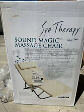 Salton Spa Therapy Sound Magic Full Body Heat & Massage Lounge Reclining Chair