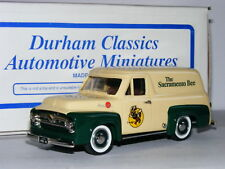 Durham Classics DC-37D 1955 Ford Panel Van Sacramento Bee LTD ED 1/43