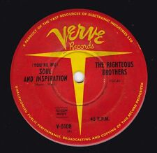 THE RIGHTEOUS BROTHERS Soul And Inspiration / B Side Blues 45