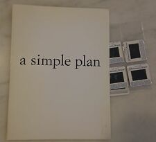 A SIMPLE PLAN (1998) Press Kit Folder, Color Photo Slides; Sam Raimi Bill Paxton