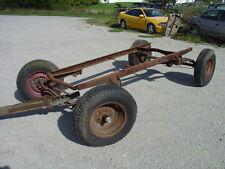 1916-1922 Chevorlet 490 Speedster Car Chassis Frame, Axles Springs, Hubs