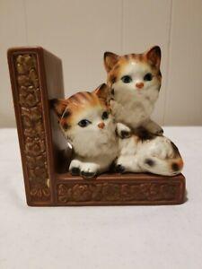 Cute Orange Kittens Book End
