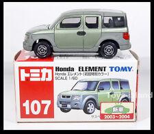 TOMICA #107 HONDA ELEMENT 1/60 TOMY Diecast Car Gift  GREEN New