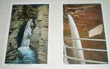 Two Postcard Views near Watkins Glen, N.Y. (circa 1920s)