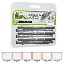 Letraset FlexMarker 6 Pen Set - Set 1 - Flex Markers