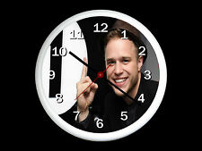 Olly Murs Wall Clock Can be Personalised