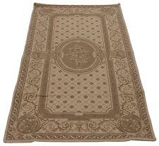COM-17053-Aubusson disegn Print area rug carpet 130x65 GALLERIAFARAH1970