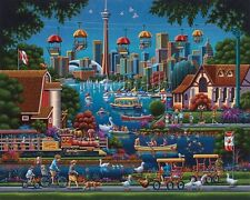 DOWDLE FOLK ART COLLECTORS JIGSAW PUZZLE TORONTO CANADA