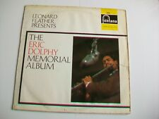 LEONARD FEATHER PRESENTS THE ERIC DOLPHY MEMORIAL ALBUM - 1967 LP - 688 521 ZL