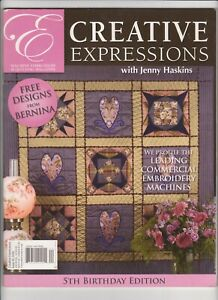 Creative Expressions with Jenny Haskins - Issue No 20 - 2008