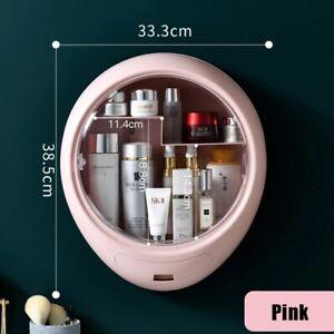 Bathroom Wall-Mounted Makeup Storage Box Large-capacity Jewelry Cosmetic Storage