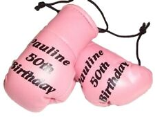 Personalised Mini Boxing Gloves. Any Colour, any name