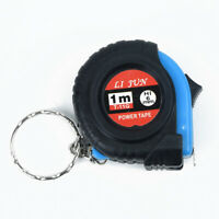 "Mini Pocket 1Meters/3.28Ft/39"" Retractable Ruler Tape Measure Metric Imperial"