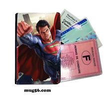 superman 02-010 étui pochette carte grise carte d'identité permis