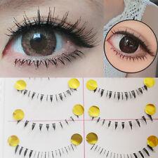 10 Pairs Modern Different Style Lower Under Bottom Eye Lashes False Eyelashes