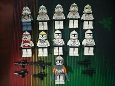 Lego Star Wars Clone Trooper Minifigures lot of 11