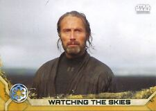 Star Wars Rogue One Series 2 Gold Base Card #2 Watching the Skies