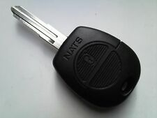 Genuine Nissan Micra, Terrano, X-TRAIL ecc. (RF) 2 ALLARME REMOTO PULSANTE non tagliata portachiavi