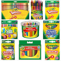 Crayola Crayons - Ultra Clean Large, Silly Scents, Easy-Grip Jumbo, Twistables.