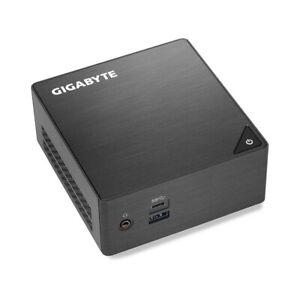 GIGABYTE BRIX PENTIUM QUAD CORE DESKTOP MINI PC 4GB RAM 128GB SSD WINDOWS 10 PRO