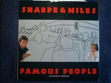 "SHARPE & NILES - FAMOUS PEOPLE - BRITISH 12"" VINYL"
