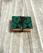 Miniature Book Charm Pendant Real Pages Tiny Book Charm Book Pendant