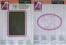 1 x NYLONS - ERGEE - PLATIN - 15 DEN - 60/70er - GR. 9 1/2 - 10