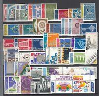 BX6889/ NETHERLANDS - EUROPA – 1958 / 2002 COMPLETE MINT – CV 200 $