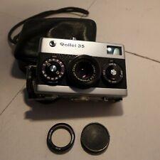Rollei 35 Camera Carl Zeiss 40mm 3.5 Tessar Lens Germany