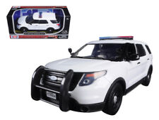ANAA-76959-2015 Ford Interceptor Unmarked Police Car with Light Bar White 1/24