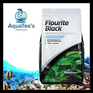 Seachem Flourite BLACK 7kg Planted Aquarium Fish Tank Substrate Shrimp Nano