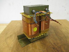 Transformator  pri. 220 V  sec. 110 V  Zweikammertrafo  Transformer T9/1070