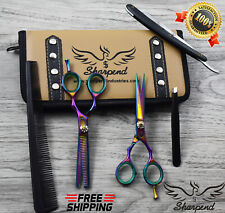 SHARPEND Professional Hairdressing Barber Hair Cutting Scissors +Thinning Shears