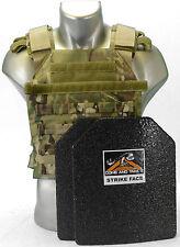 "CATI Body Armor (AR)500 Steel Plates 1/4"" Frag Coating Sentry MULTICAM LEVEL 3"