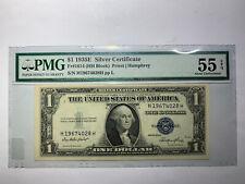 1935E $1 Note Fr#1614 HH PMG AU55 EPQ