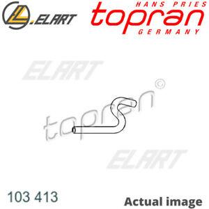 RADIATOR HOSE FOR AUDI VW 80 80 82 B1 ZB YJ ZC YN YP XX YS 80 81 85 B2 JS TOPRAN