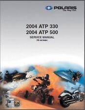 2004 Polaris ATP 330 / ATP 500 ATV Service Repair Manual on a CD