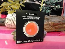MAC STUDIO FINISH SKIN CORRECTOR PURE ORANGE  CONTOUR new in box authentic