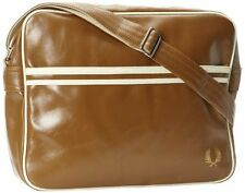 FRED PERRY Classic shoulder messenger bag OAK Genuine - L1180-425