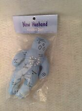 New Husband Voodoo Doll Blue Novelty Bachellorette & Pride Engagement Party Gift