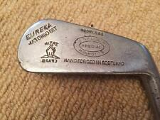 Vintage G H Waldon de Monmouth Especial Mitre Cleek Golf Club mano forjada Escocia