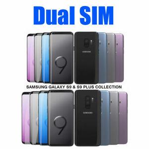 Samsung Galaxy S9 G9600 S9 Plus G9650 Dual SIM 64GB 128GB Unlocked
