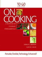"On Cooking: Culinary Fundamentals/""To Go'"" ed. Labensky/Hause (2010) PB 180420"