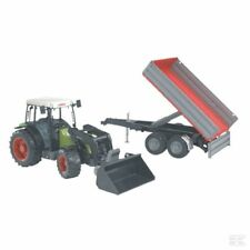 Bruder Claas Nectis 267 F With Loader & Trailer 1:16 Scale Model Present Gift