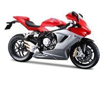 Maisto 1/12 MV Agusta F3 Red Bike Motorcycle Diecast Silver Red (11093)